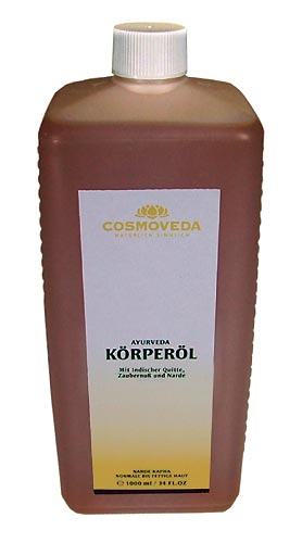 Body Oil Kapha-Narde by Cosmoveda, 1 liter