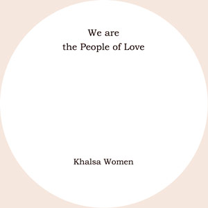We are the People of Love CD
