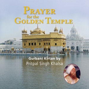 Prayer for the Golden Temple – Pritpal Singh CD