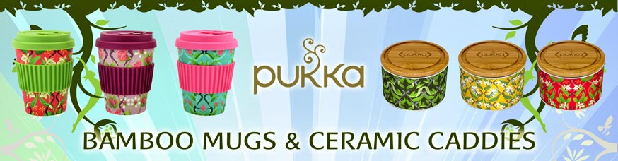 Pukka Mugs & Caddies