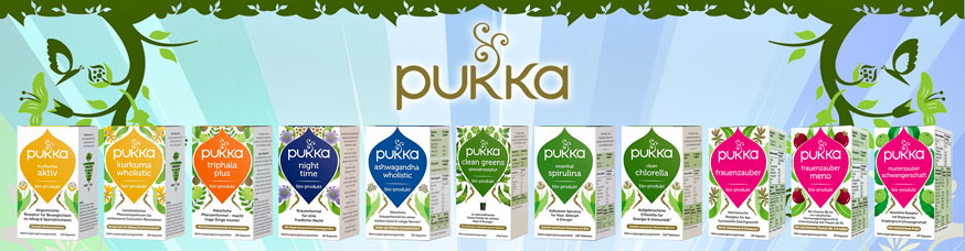 Pukka Organic Supplements
