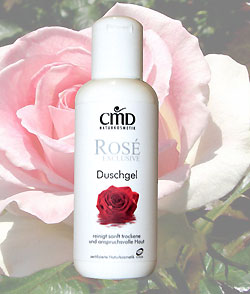 Rose Exclusive Shower Gel, 200 ml