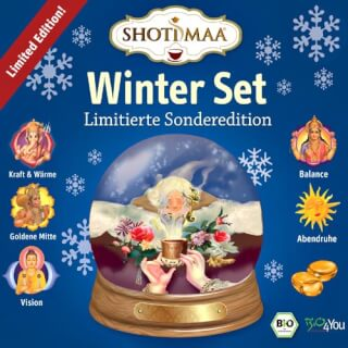Shoti Maa Winter Set: Tee & Ingwer-Bonbons
