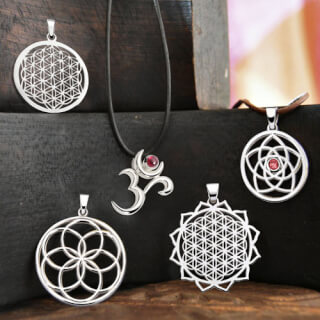 The Spirit of OM Silver Jewelry