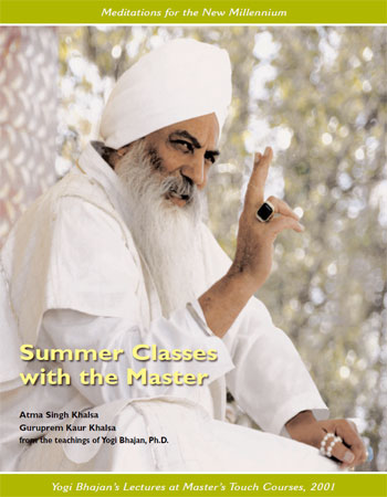 Summer Classes with the Master - Yogagems mit Yogi Bhajan