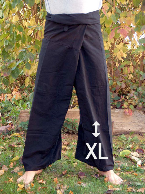Thai-trousers black