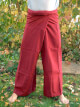 Thai-trousers wine red