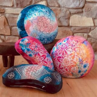 Spirit of OM Meditation Cushions