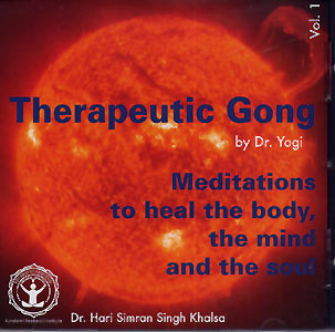 Therapeutic Gong - Dr. Yogi CD