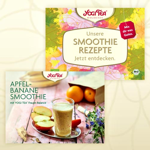 Wellness Collection Yogi Tea Smoothie-Rezepte