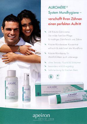 Auromére System Mundhygiene Info-Poster A4