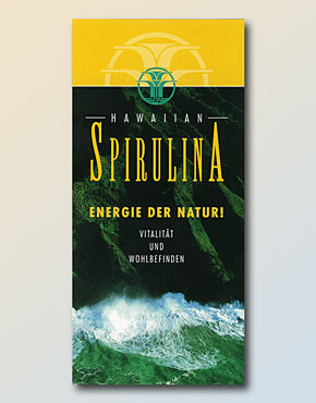 Hawaiian Spirulina Flyer