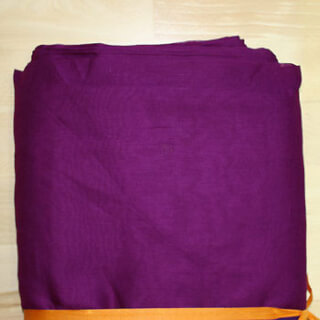 Turbanstoff Voile, Violet-Red, 1 Meter