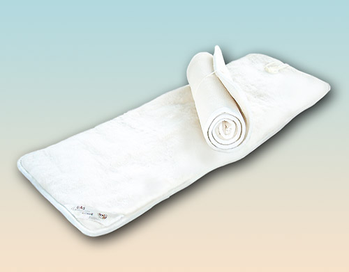Yoga mat natural latex 90 x 200 cm