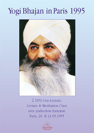 Yogi Bhajan In Paris 1995, 2 DVD-Set