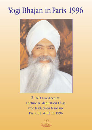 Yogi Bhajan In Paris 1996, 2 DVD-Set