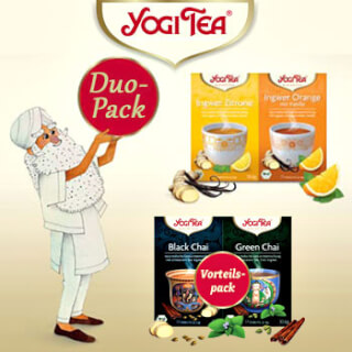 Yogi Tea Duo Value Packs