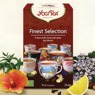 New Yogi Teas - taste and enjoy!