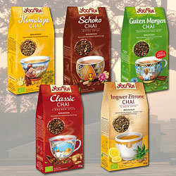 Yogi Tea loose - new Chai varieties