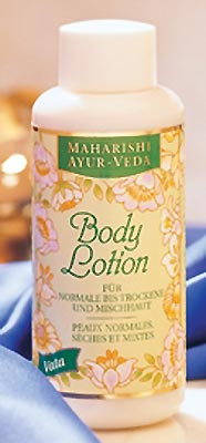 Vata Body Lotion Maharishi, 150 ml