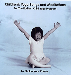 Children's Yoga Songs and Meditations CD