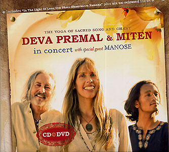 Deva Premal &  Miten in Concert CD+DVD