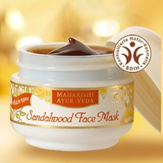 Face Mask Sandalwood Maharishi, 30 Ml