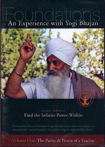 The Purity & Power of a Teacher - Yogi Bhajan DVD