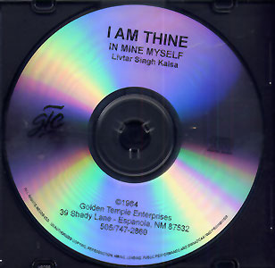 I am Thine - Livtar Singh CD