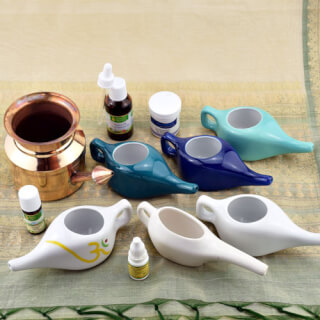 Jala Neti nasal pots & accessories in a wide range