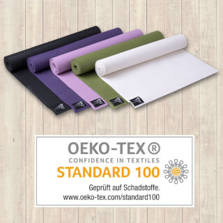 Certified by OEKO-TEX Standard 100