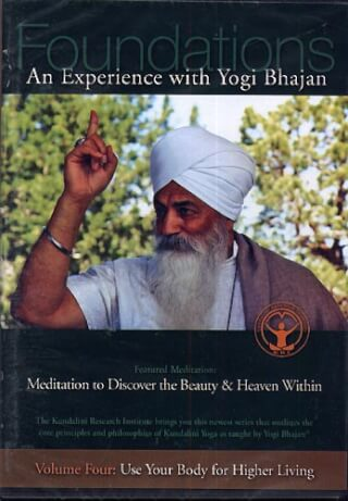 Use your Body for Higher Living - Yogi Bhajan DVD