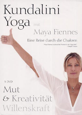 Mut, Kreativität, Willenskraft - Maya Fiennes 3-DVD-Set
