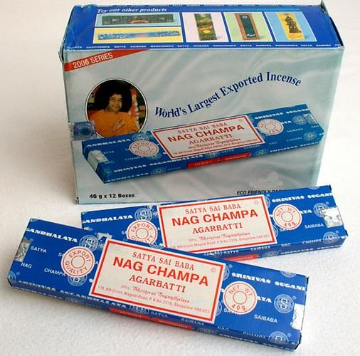 Nag Champa Satya Sai Baba Incense Sticks, 40 g