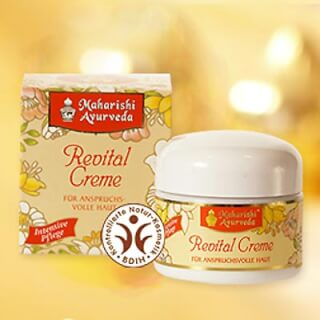 Revital facial care cream Maharishi, 50 ml