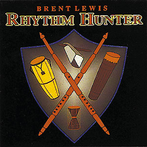 Rhythm Hunter - Brent Lewis CD