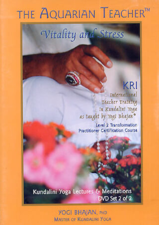 Vitality and Stress - 4 DVD-Set, Yogi Bhajan