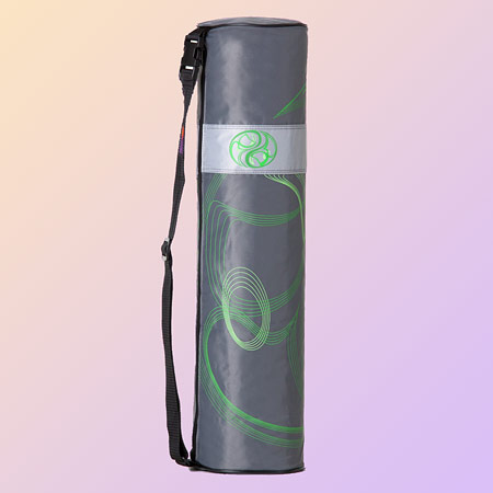 Yoga bag Yin-Yang, green - dark grey