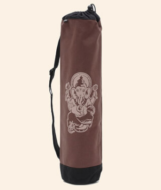 Yogibag Ganesha, cotton, Brown-Black