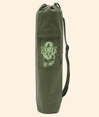 Yogibag Ganesha Olive, cotton