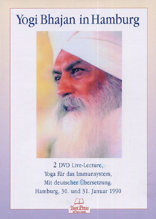 Yogi Bhajan in Hamburg, 2 DVD-Set